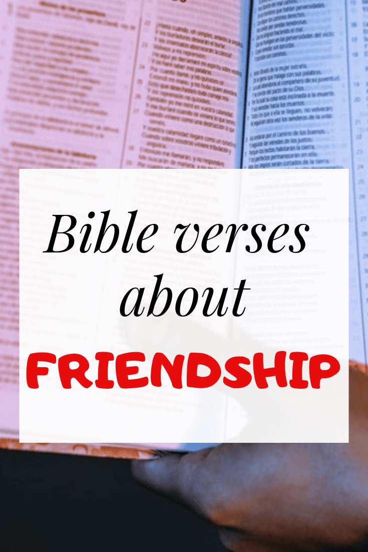 Bible verses about friendship and love