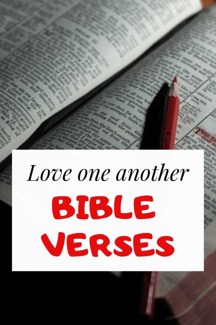 Love One Another Bible verses