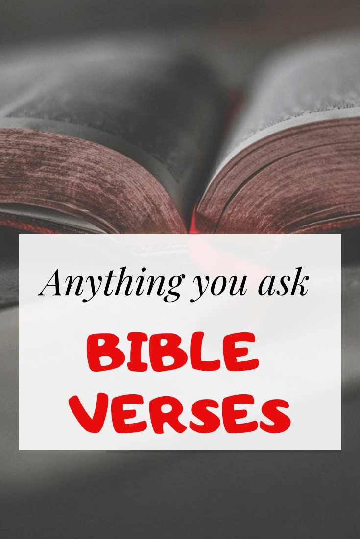 whatever you ask bible verses