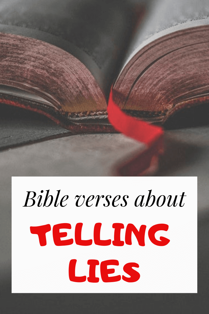 Bible verses about Lying and deceit