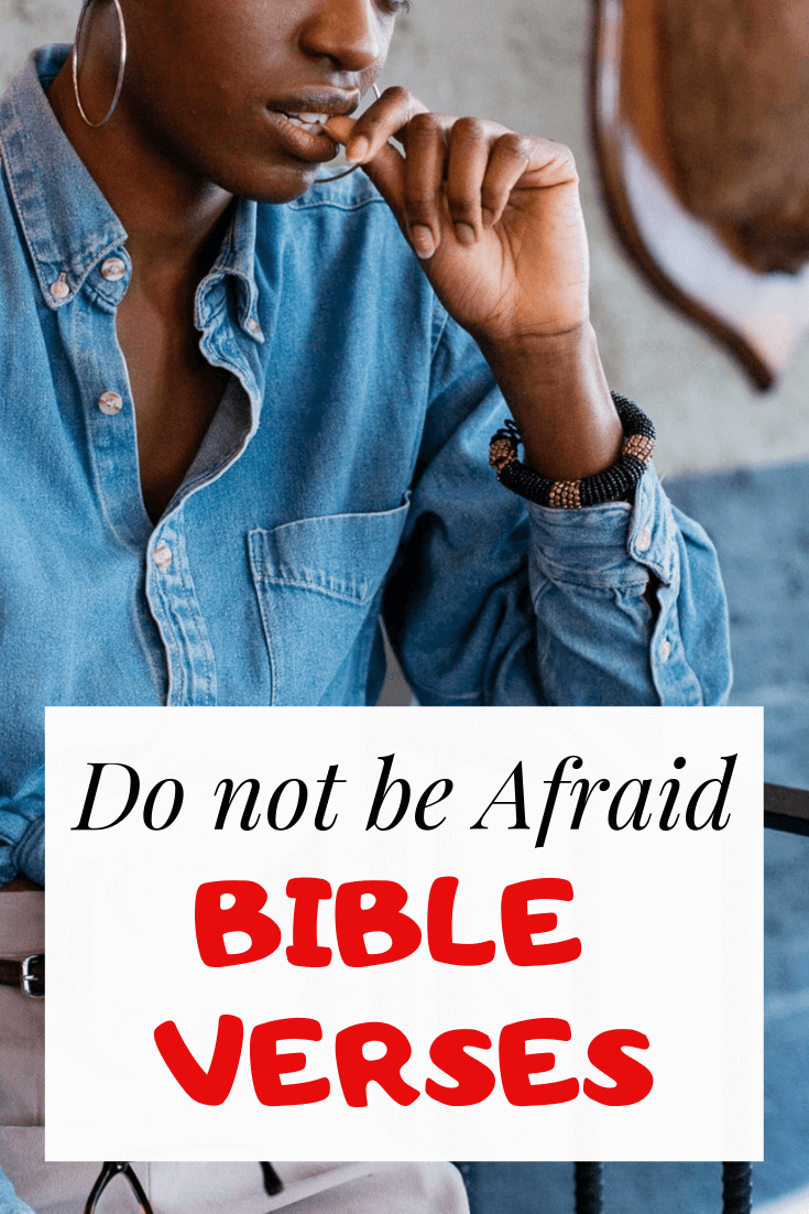 Do not be Afraid bible verses