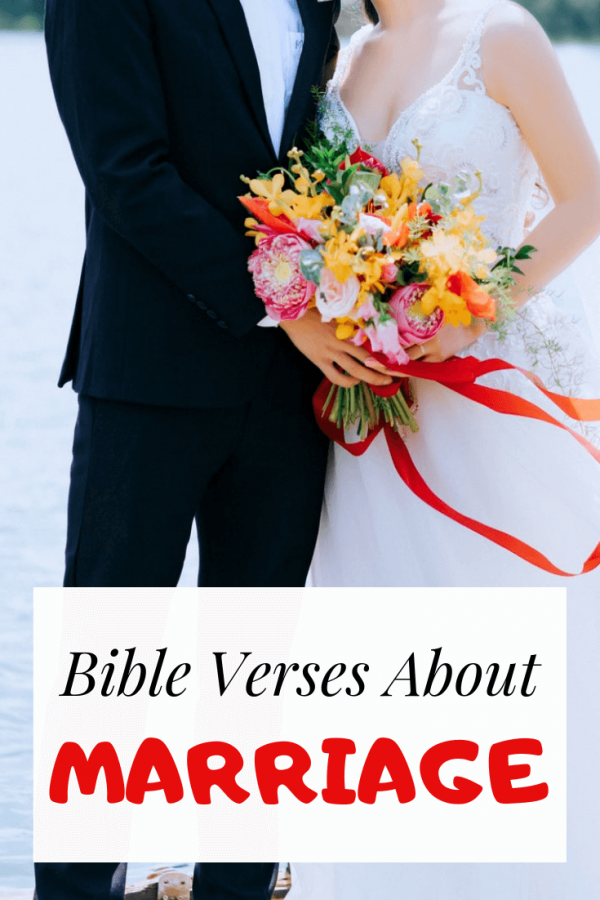 Bible verses about Getting married & wedding