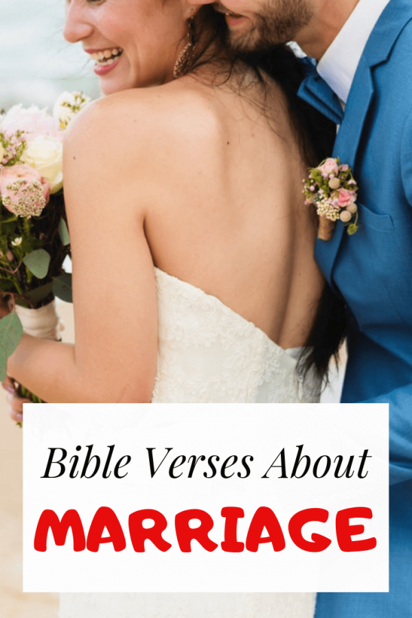 Bible verses about marriage between man and woman