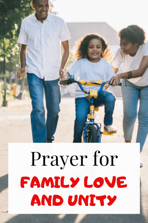 Powerful Prayer for family love and unity