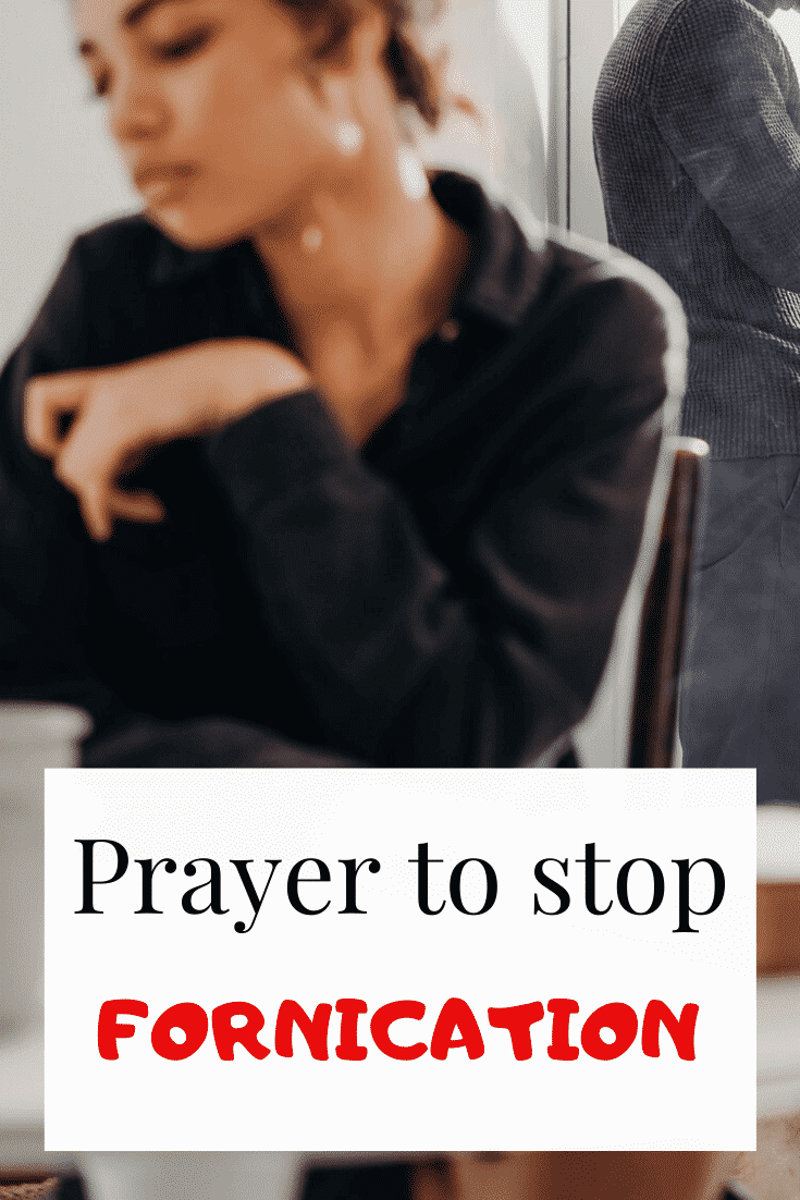 Prayer To Stop fornication & sexual sins