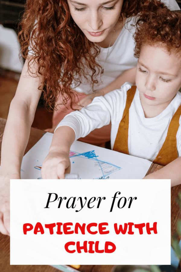 Prayer for patience with child