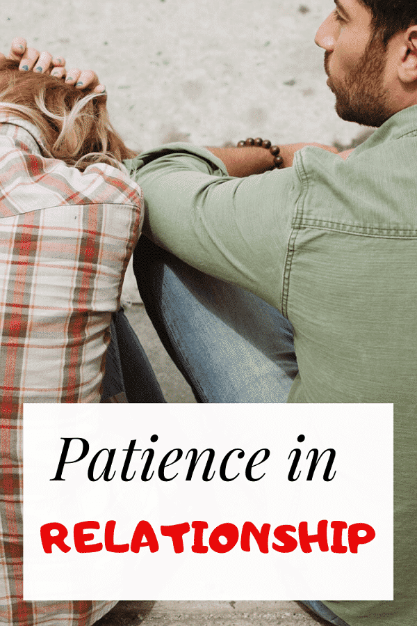 bible verses about patience in relationship