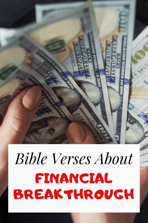 Bible Verses About Financial Breakthrough