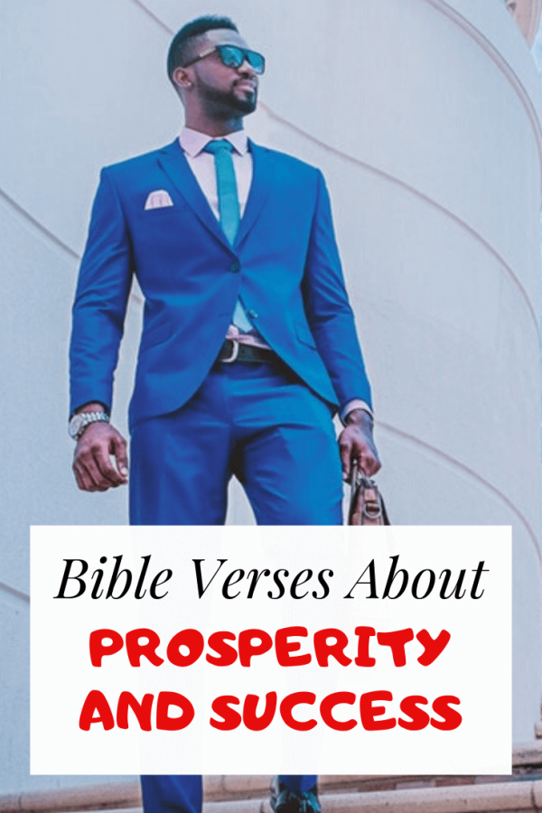 Bible Verses About Prosperity And Success