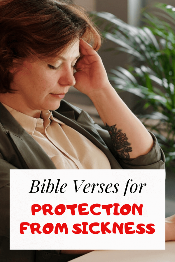 Bible Verses about protection from sickness
