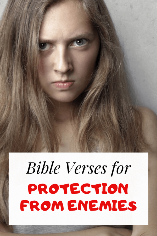 Bible verses about protection from enemies