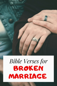 32 Bible verses for broken marriages: Scriptures for troubled Union