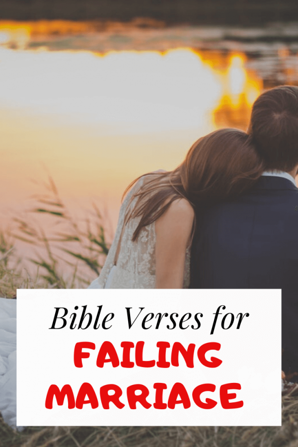 Bible verses for failing marriage