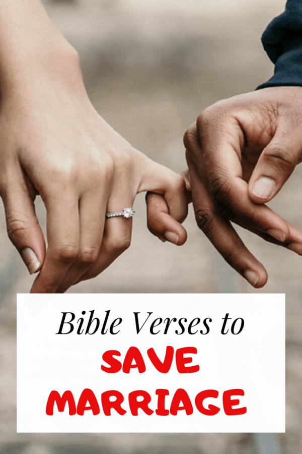 Bible verses to save marriage