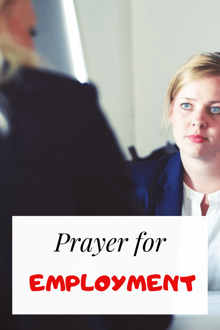 Prayer For Employment and searching for Job (With Bible Verses)