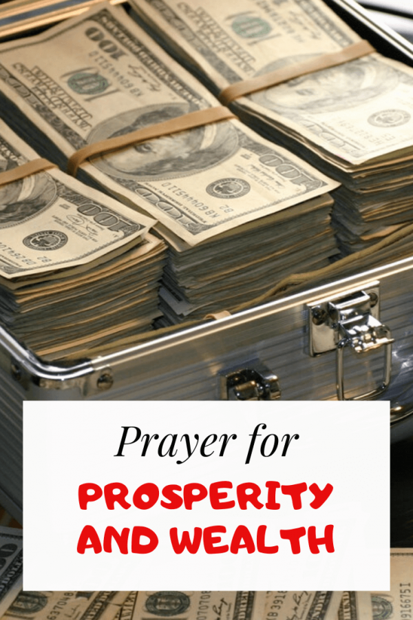 Prayer For Prosperity and Wealth