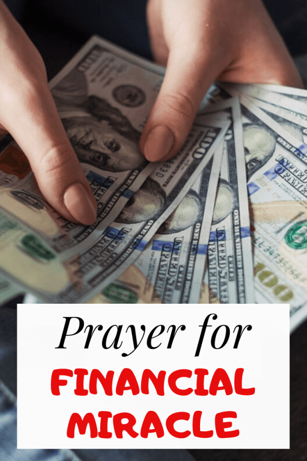 Prayer for Financial Miracle immediate