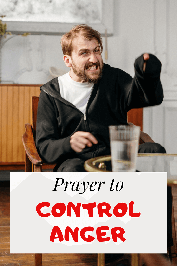 Powerful Prayer to Control Anger & temper For Deliverance