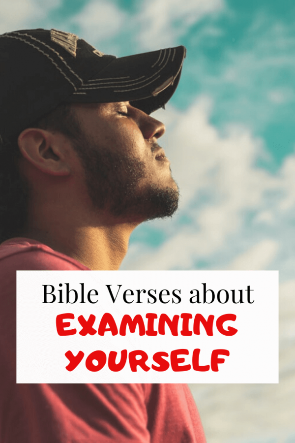 Bible Verses About Examining Yourself