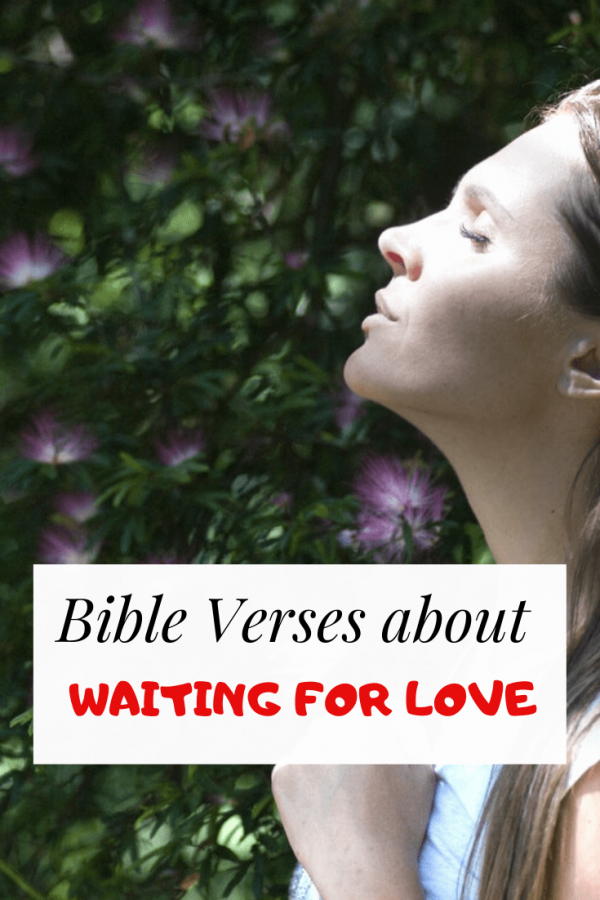 Bible verses about waiting for love