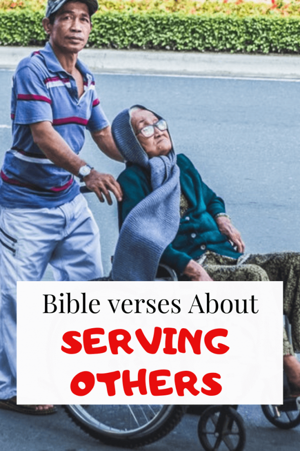 Bible Verses Serving Others and the Church