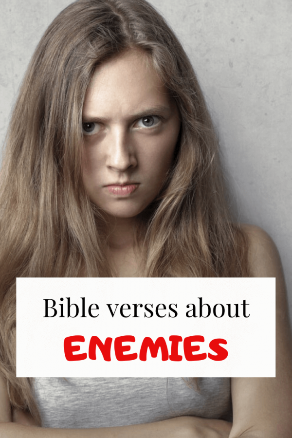 Bible verses about enemies