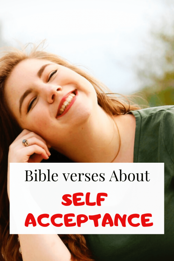 Bible verses about self Acceptance