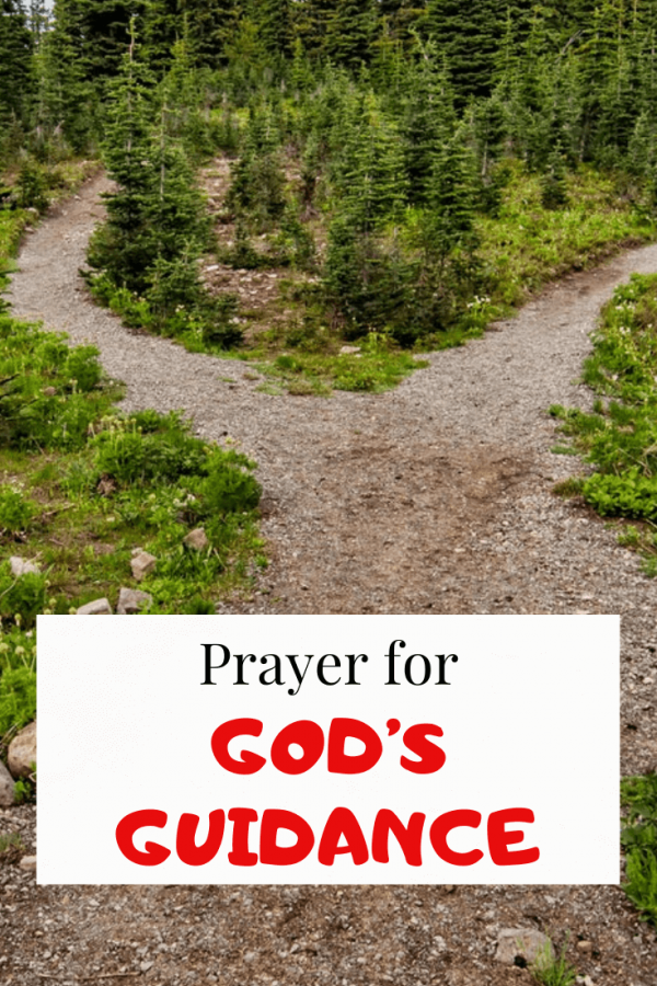 Prayer For Guidance And God's Direction