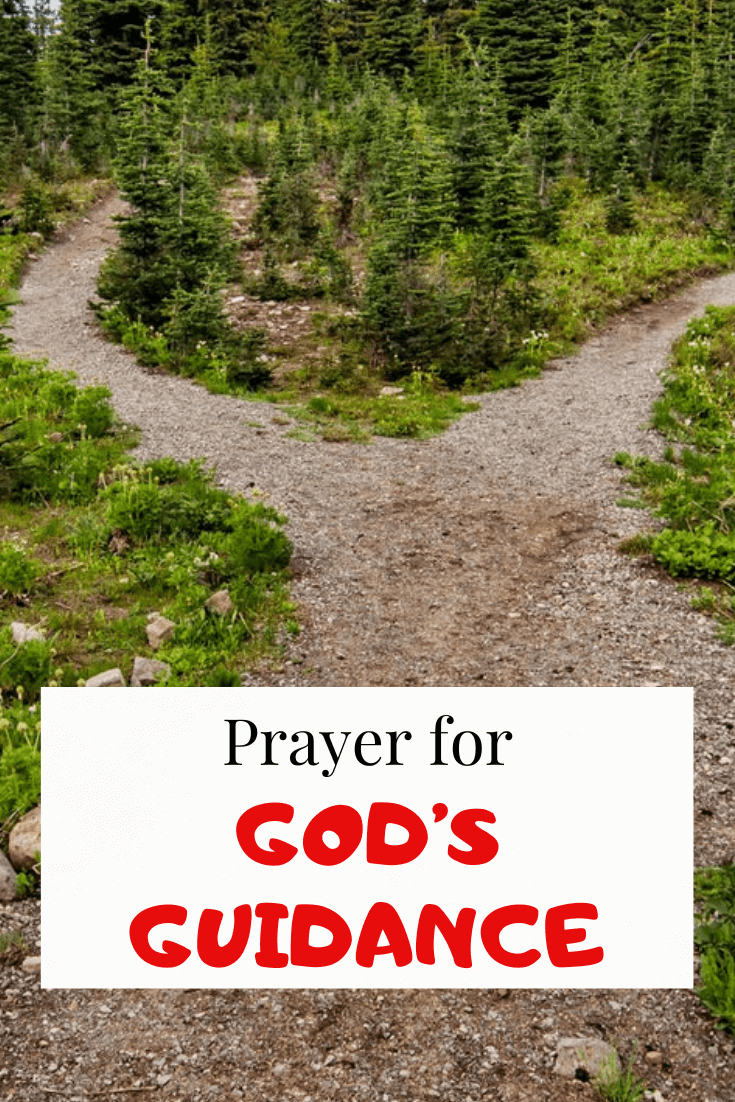 Prayer for Guidance and God's Direction in decision Making