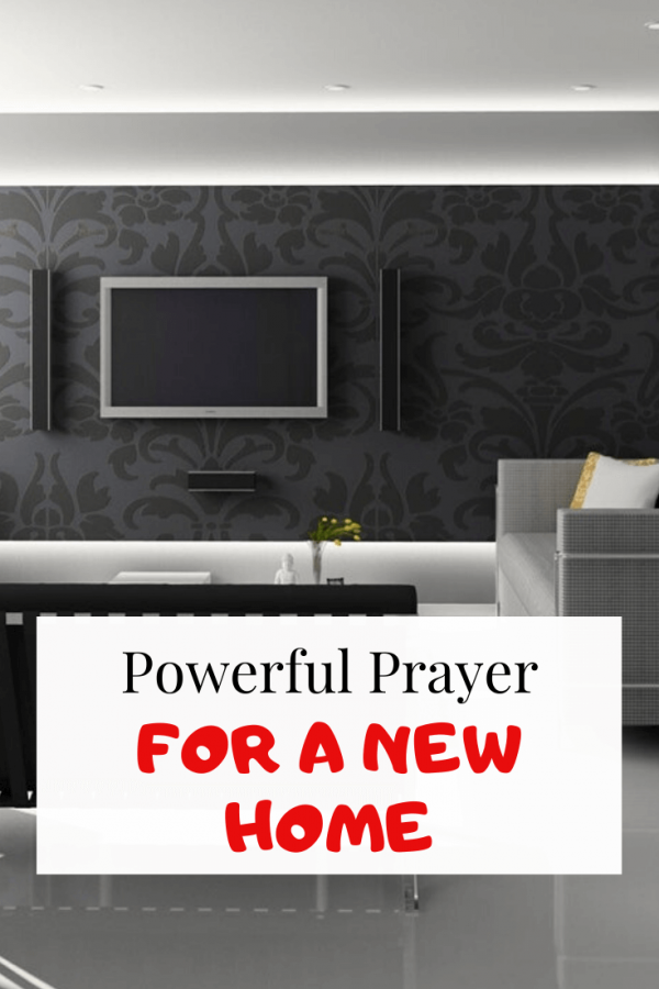 prayer for a new home