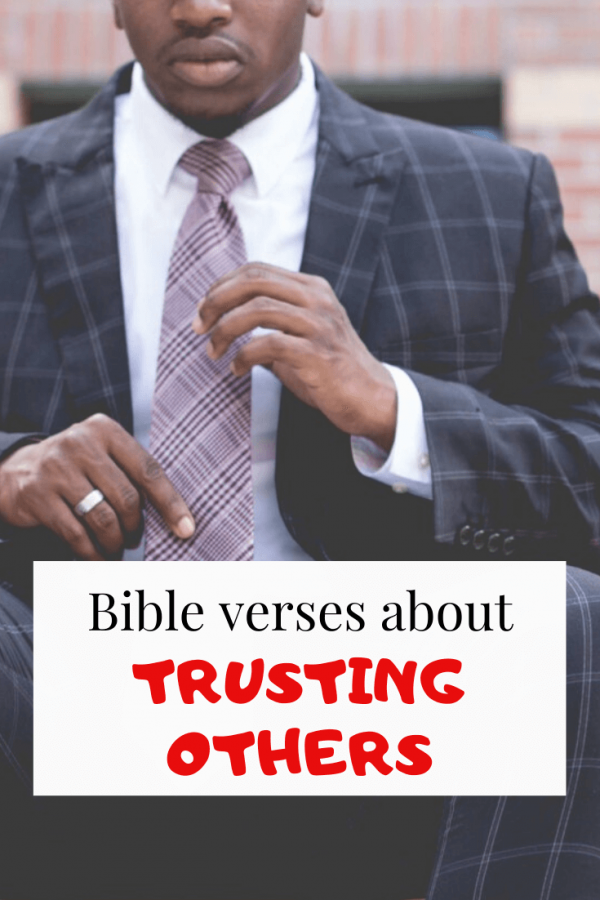 Bible verses about trusting others